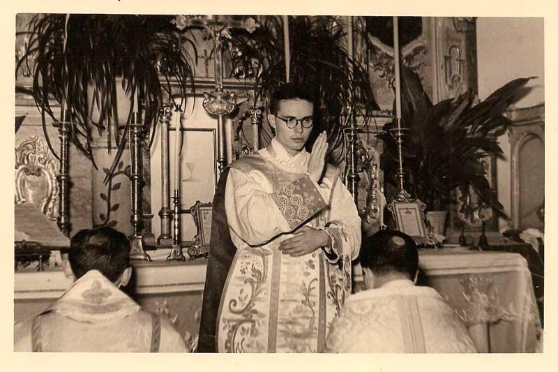 Iglesia de San Luis Beltrán, Tormos,  16 de agosto de 1953