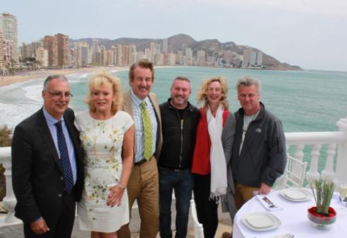La serie británica 'Benidorm' rueda su octava temporada