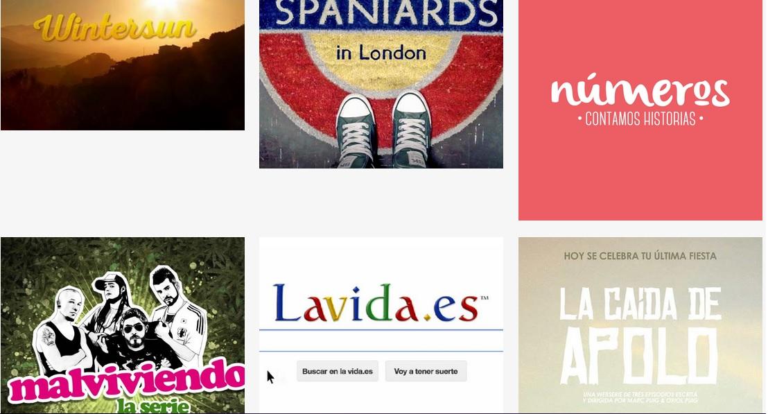 'Fidewà' ya tiene sus finalistas: 11 webseries nacionales y 6 internacionales