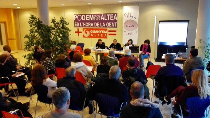 Con los votos autonómicos, no habría ninguna mayoría absoluta en la comarca y Podemos estaría en Benidorm, La Vila y La Nucia