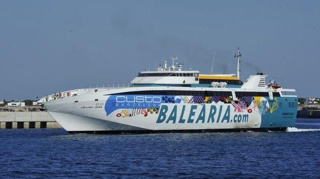 Baleària duplica las conexiones con las islas esta Semana Santa