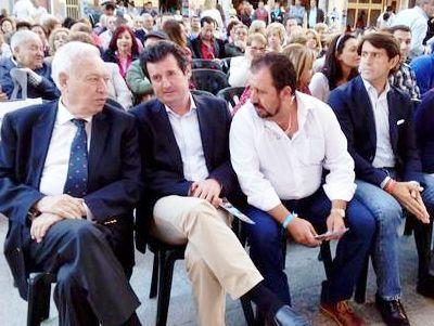 El PP 'echa el resto' y trae a la comarca al ministro García-Margallo