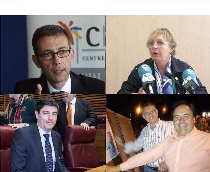 Las despedidas de la política activa en la comarca