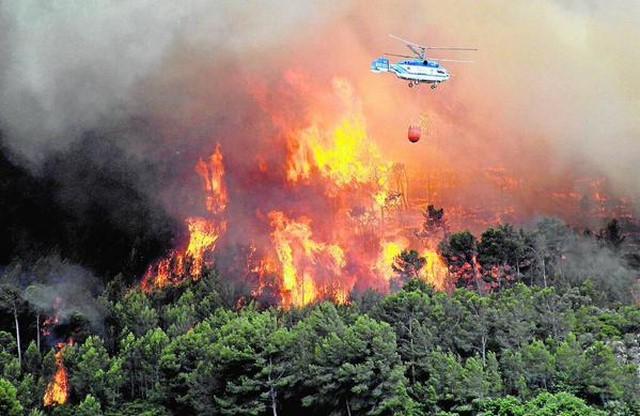 El Ministerio de Defensa tardó una hora y media en decidir si enviaba a la UME al incendio que arrasó 1.715 hectáresas entre la Vall d'Ebo y Pego