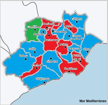 Así fueron las elecciones locales de 2011