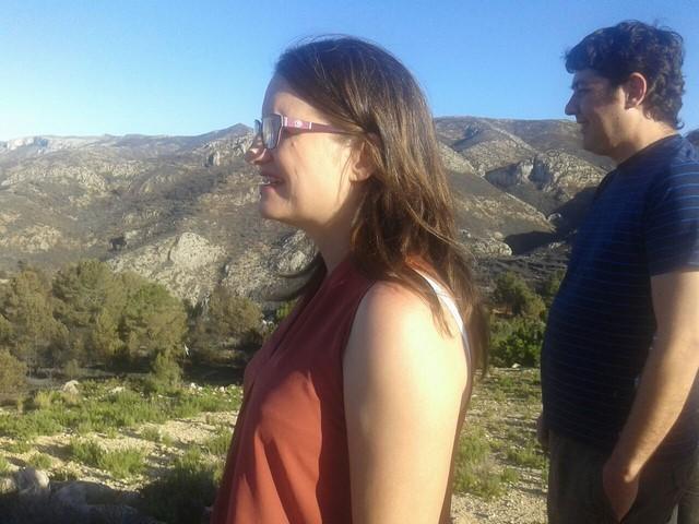 """Mònica Oltra, en Pego: """"La lección del incendio es que los recortes en prevención y extinción tienen consecuencias muy negativas"""""""