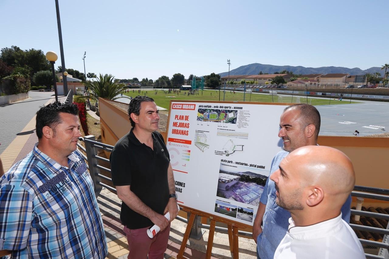 El candidato del PSPV de L'Alfàs propone siete proyectos 'estrella' para seguir fomentando el turismo deportivo
