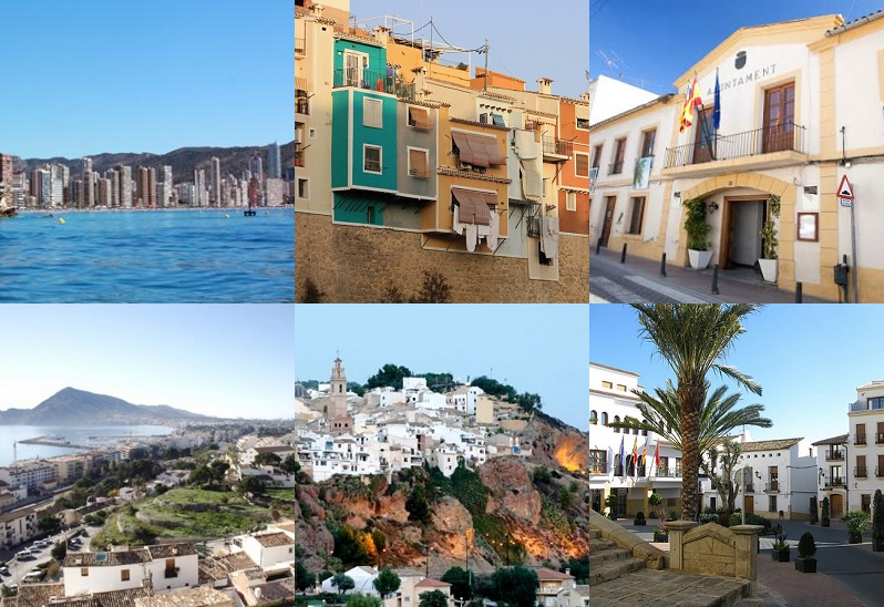 Conoce a los 210 concejales de La Marina Baixa