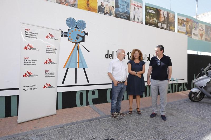 La sección de Cine Solidario del Festival de L'Alfàs recauda más de 4.300 euros
