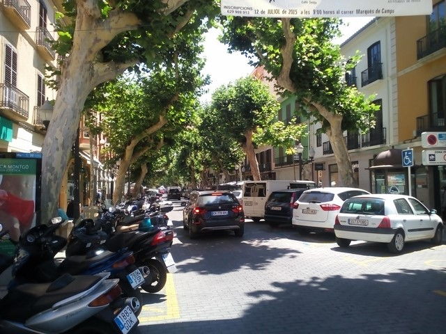 Objetivo: peatonalizar Marqués de Campo