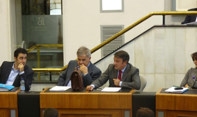 César Sánchez, José Chulvi y el atractivo de la Marina Alta para la Diputación