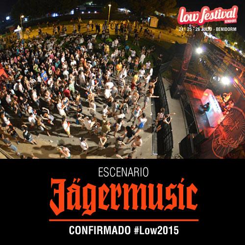 Seis bandas y 13 DJs se unen al escenario Jägermusic del Low Festival 2015