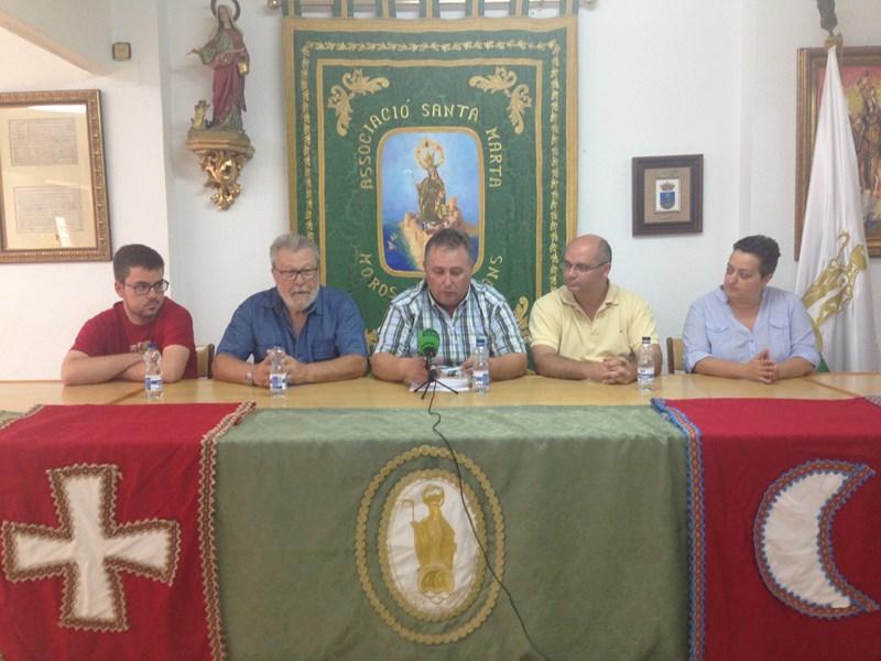 Pedro Mingot Senabre, pregonero de las Fiestas de Moros y Cristianos de La Vila