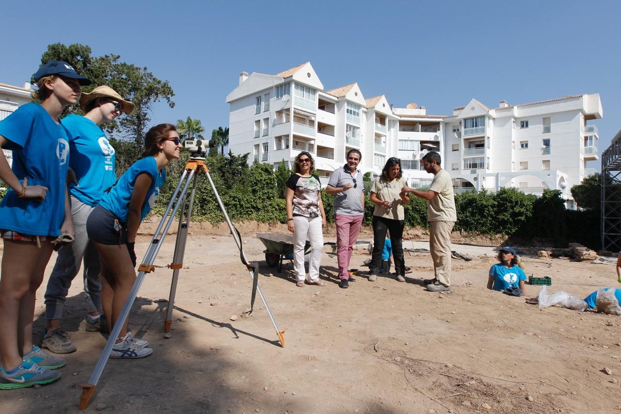 20 jóvenes trabajarán dos semanas en la Villa Romana en busca de nuevos hallazgos