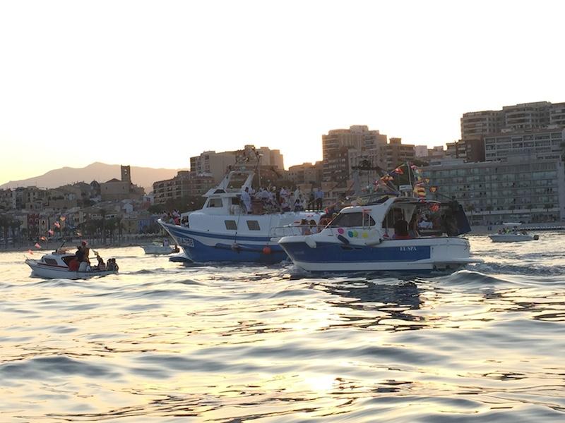 Carmen sigue protegiendo a las gentes del mar