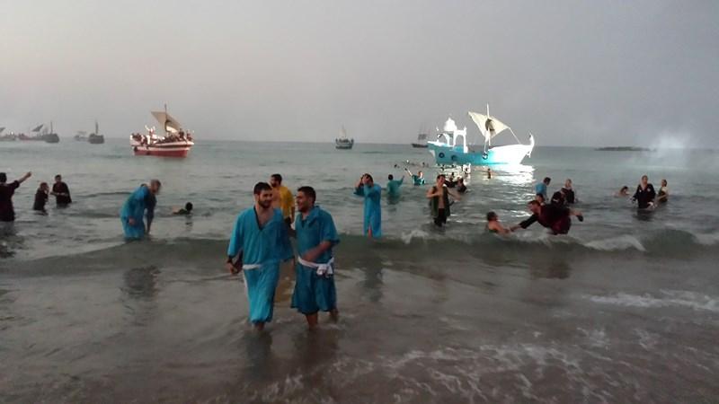 Las tropas de la media luna conquistan la playa y La Vila cae bajo el poder del Rey Moro