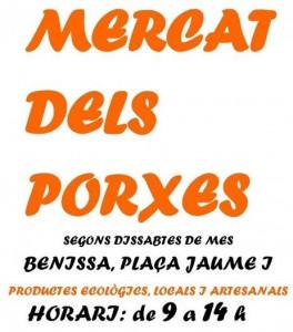 Mercat dels Porxes: productes ecològics i artesanals -Benissa- @ Plaça Jaume I