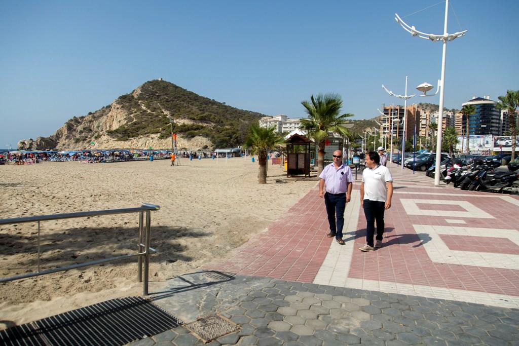 Finestrat y La Vila plantean la gestión conjunta de La Cala para ahorrar costes