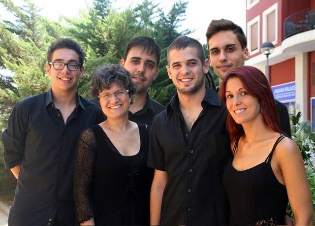 Los jóvenes intérpretes de la banda de Dénia abren la XXVI Setmana Internacional de la Música de Dénia