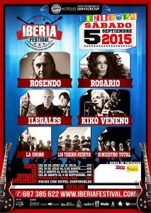Pop rock: Iberia Festival 2015 -Benidorm- @ Plaza de Toros