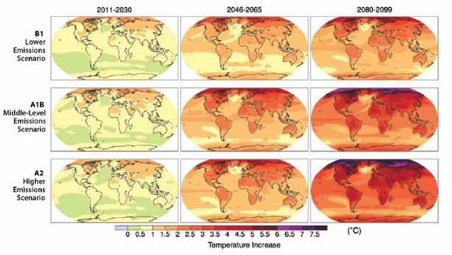 Paisajes submarinos: Cambio climático. Lo que le está pasando a nuestra casa