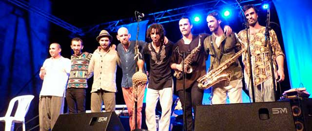 Gabacho Maroconnection descarga todo su arsenal rítmico en Música al Castell de Dénia
