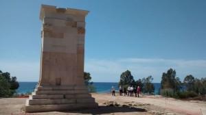 La recién restaurada Torre de Sant Josep.