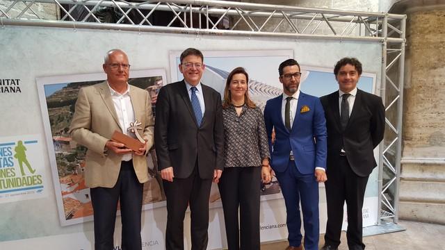 El Ayuntamiento de Dénia y Quique Dacosta, premios Turisme Comunitat Valenciana