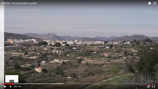 [Vídeos] La Marina Alta «pueblo a pueblo» (II): Benissa, Xaló, Llíber, Parcent, Orba y Alcanalí