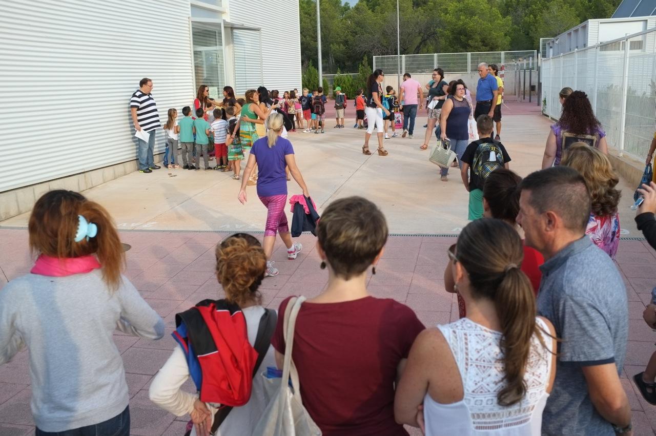 Más de 3.500 alumnos vuelven a las aulas de L'Alfàs del Pi, La Nucia y Finestrat