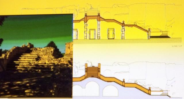 Dénia acomete la primera gran restauración del castillo en décadas y se compromete a darle continuidad con más actuaciones en los próximos años