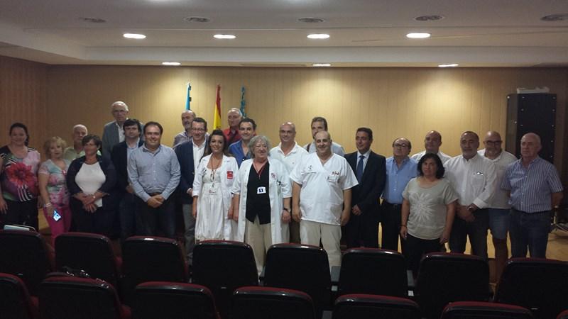 18 alcaldes con un objetivo común: la ampliación del hospital de la Marina Baixa