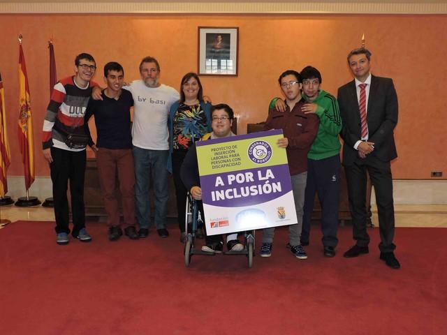 Condenados al Bordillo refuerza su proyecto de inserción laboral de personas con discapacidad