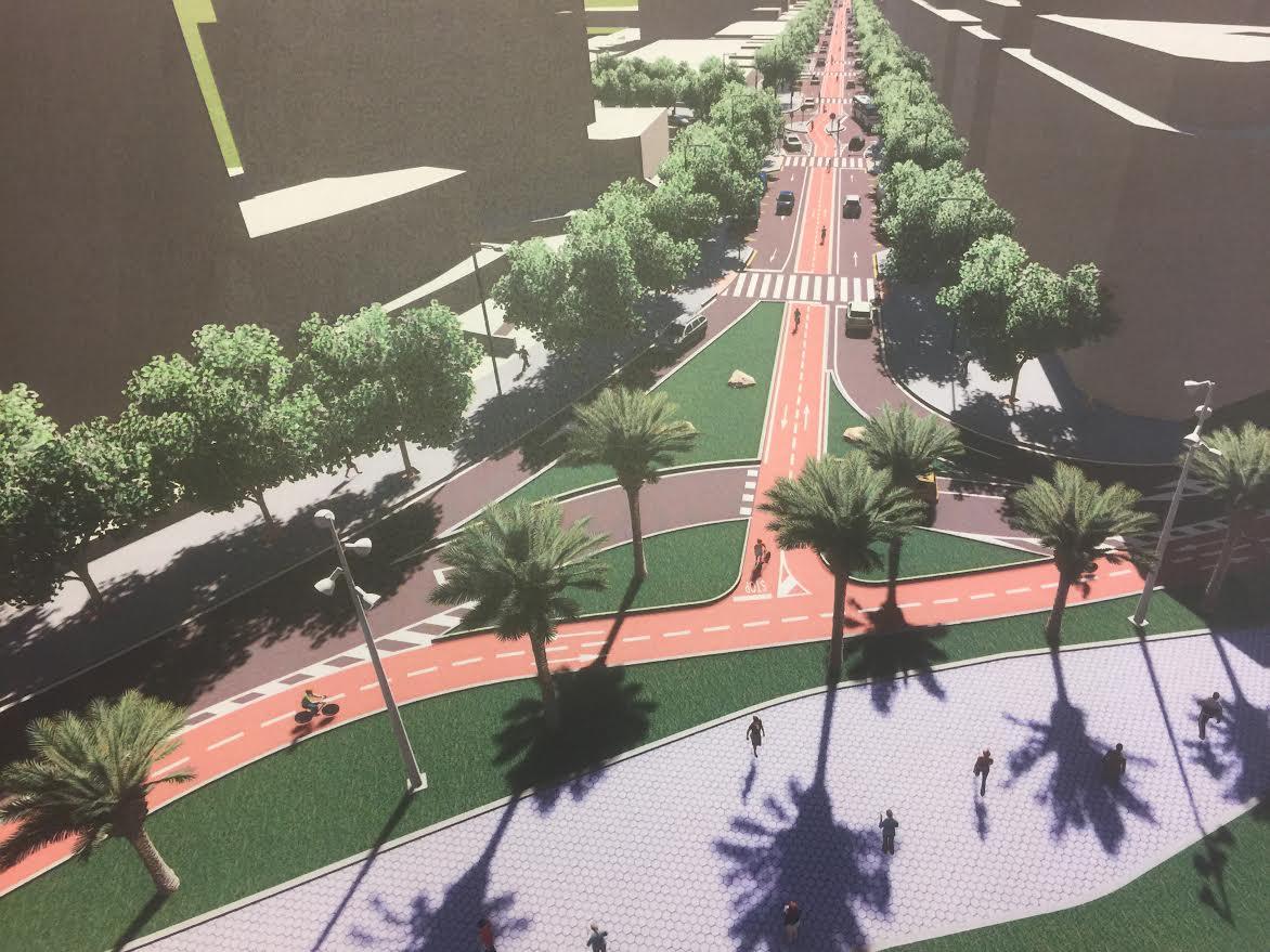 36 empresas optan a las obras de la Avenida Jaime I