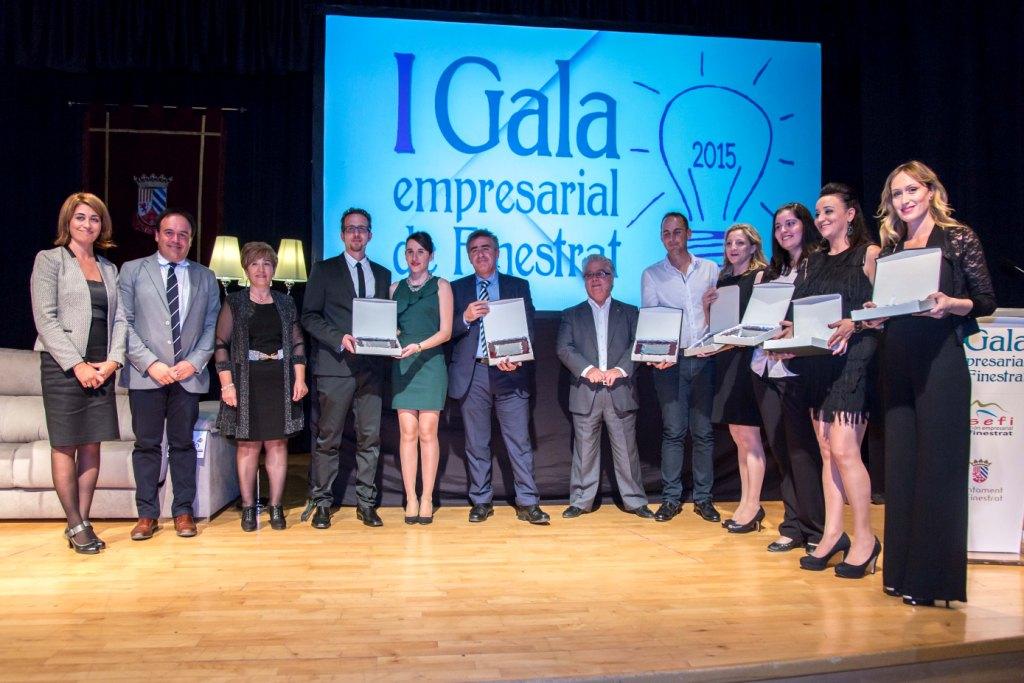 Más de 200 empresarios brindan su apoyo a la I Gala Empresarial de Finestrat
