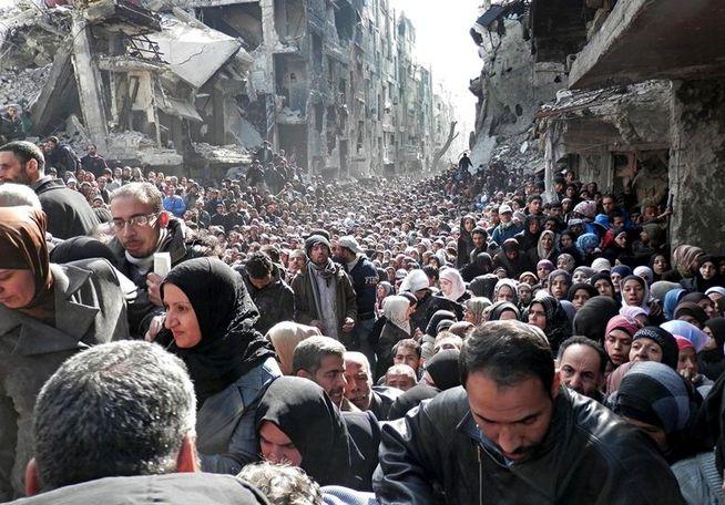 En solidaridad con los refugiados
