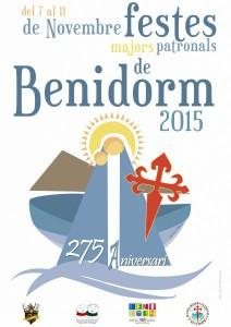 Fiestas Mayores Patronales de Benidorm 2015