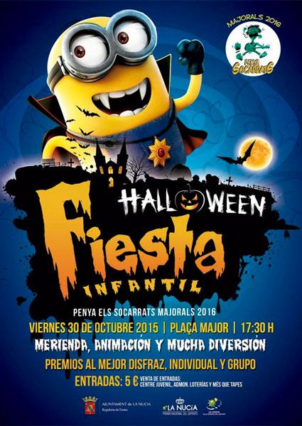 Fiesta infantil de halloween la nucia eventos agenda - Fiesta halloween infantil ...