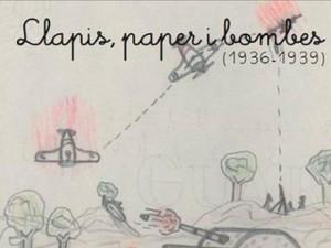 """Exposición """"Lápiz, papel y bombas"""", dibujos sobre la Guerra Civil realizados por niños evacuados -Xàbia- @ Fundació CIRNE"""