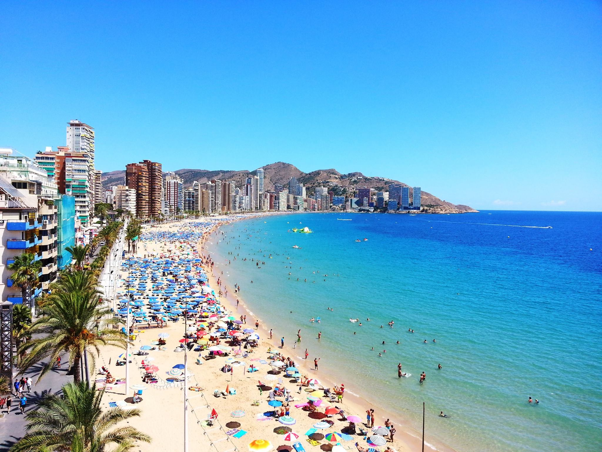 Los extranjeros se hacen con la ocupación hotelera del mes de septiembre y llegan al 60%