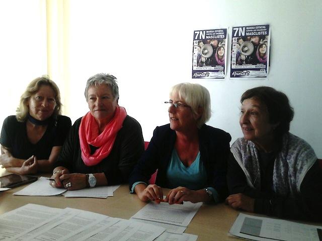 Nueve colectivos de la Marina Alta desembarcarán en Madrid contra la violencia machista