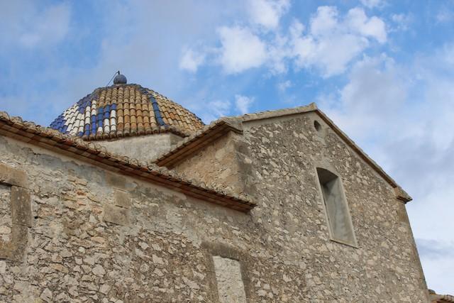 Benitatxell se hará cargo de la restauración de la cúpula de la iglesia
