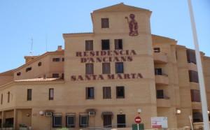 Fachada del asilo Santa Marta de La Vila Joiosa