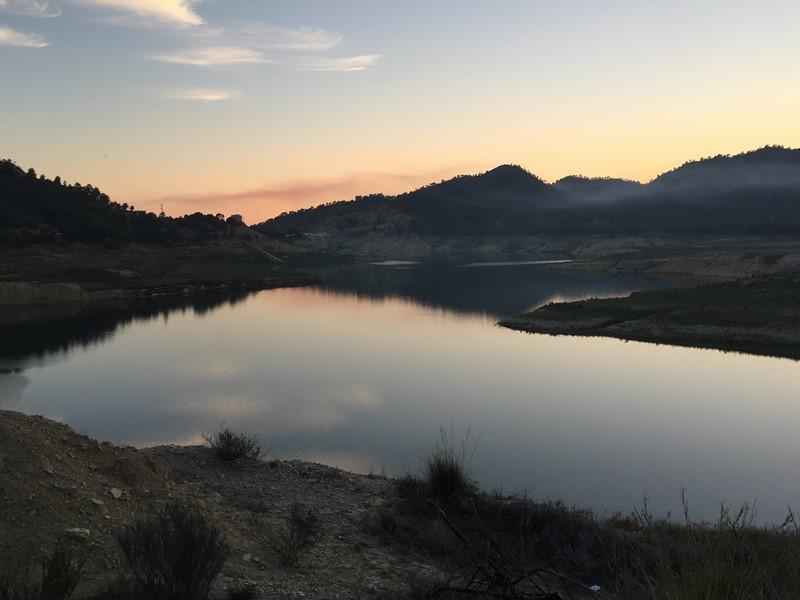 Un respiro para el pantano del Amadorio de La Vila