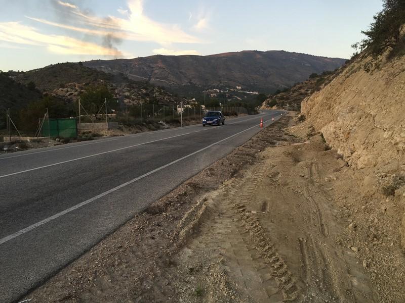 La Diputación rehabilita la CV-770 entre La Vila y Orxeta afectada por las últimas lluvias
