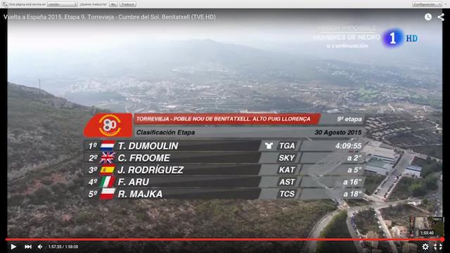 La Vuelta a España volverá en 2016 a la Marina Alta como reclamo turístico