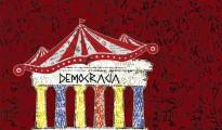 """""""Democarcia"""", ilustración de Gabriel Martínez"""