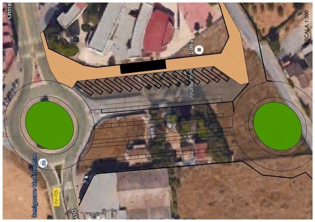 Dénia estudia ubicar la estación de autobuses junto al colegio Llebeig