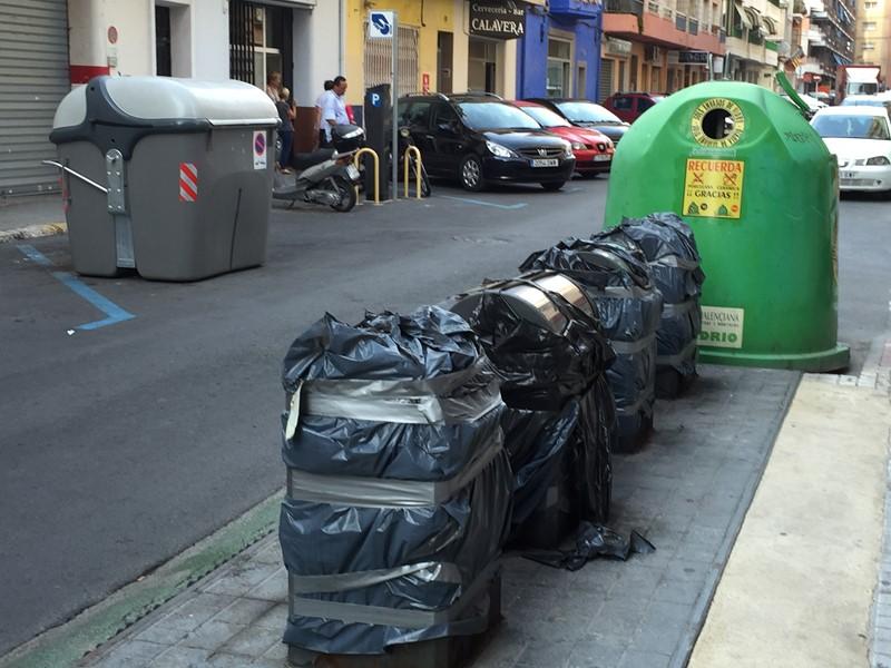 La Vila abre un expediente a la contrata de basura por incumplimientos en los tres últimos meses