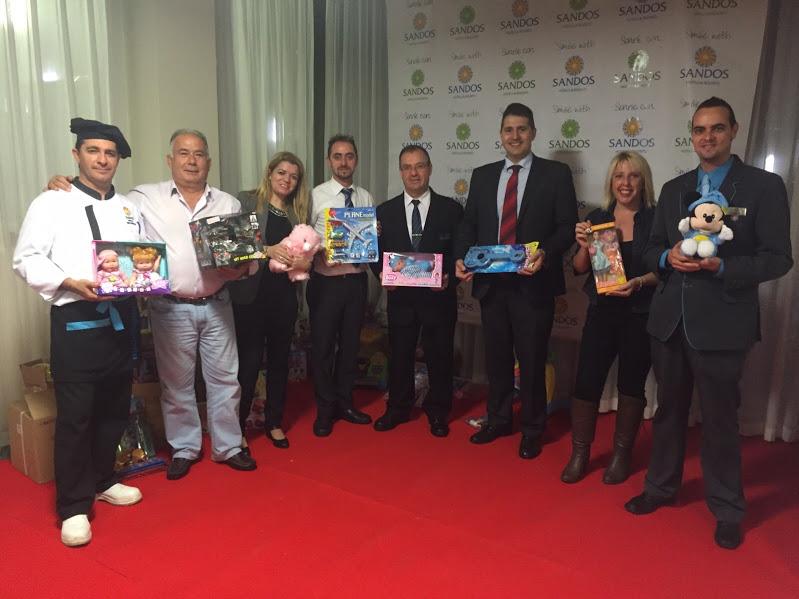 Imed Levante y las cadenas Marconfort y Sandos Hoteles recogen juguetes para niños desfavorecidos
